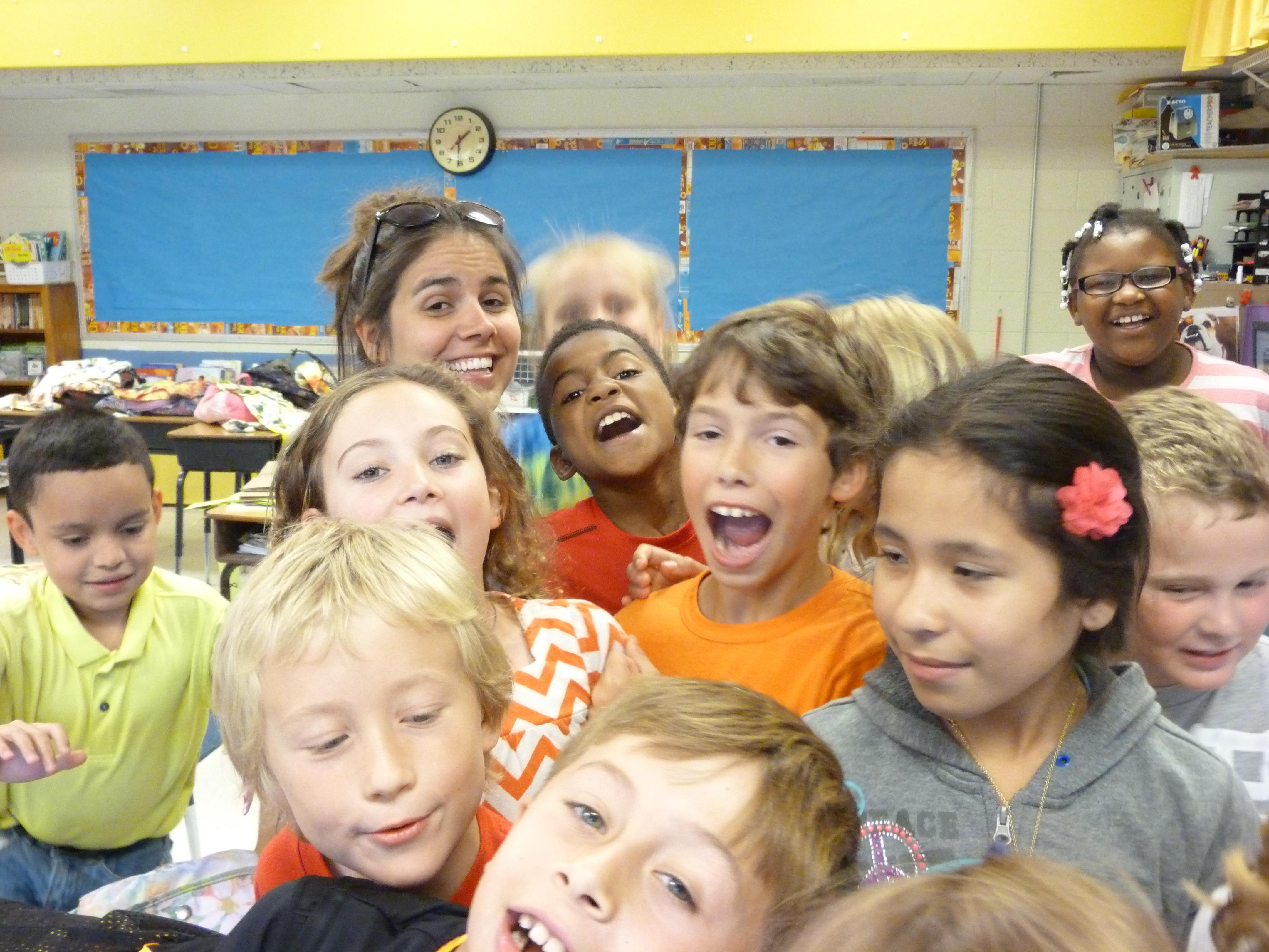 2014 June Christie's 3rd grade class 024