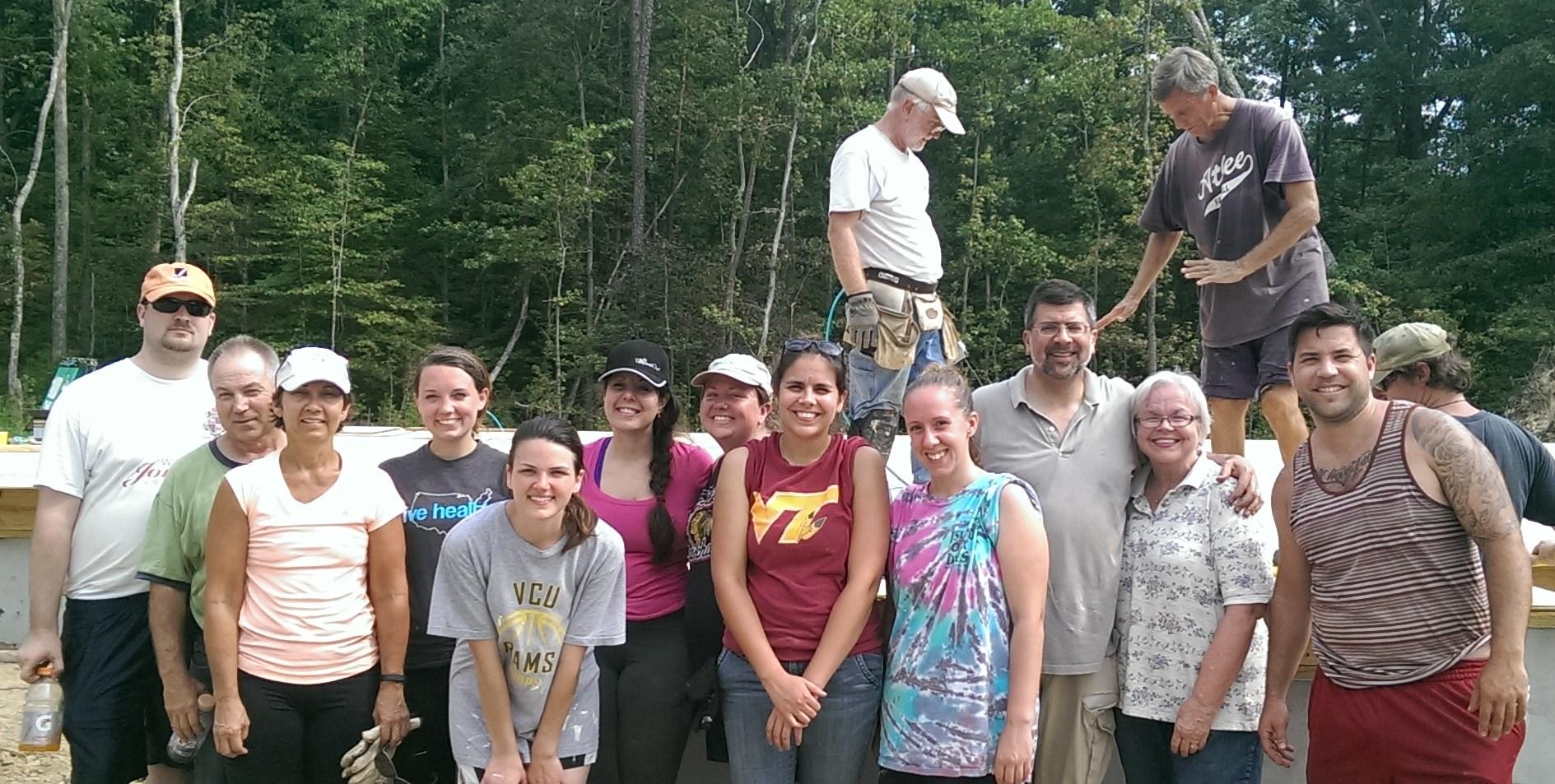 Crosstrain at Habitat for Humanity - Aug 30 2014