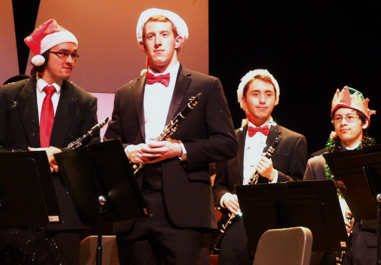 Blog - VCU Holiday gala - orchestra musicians