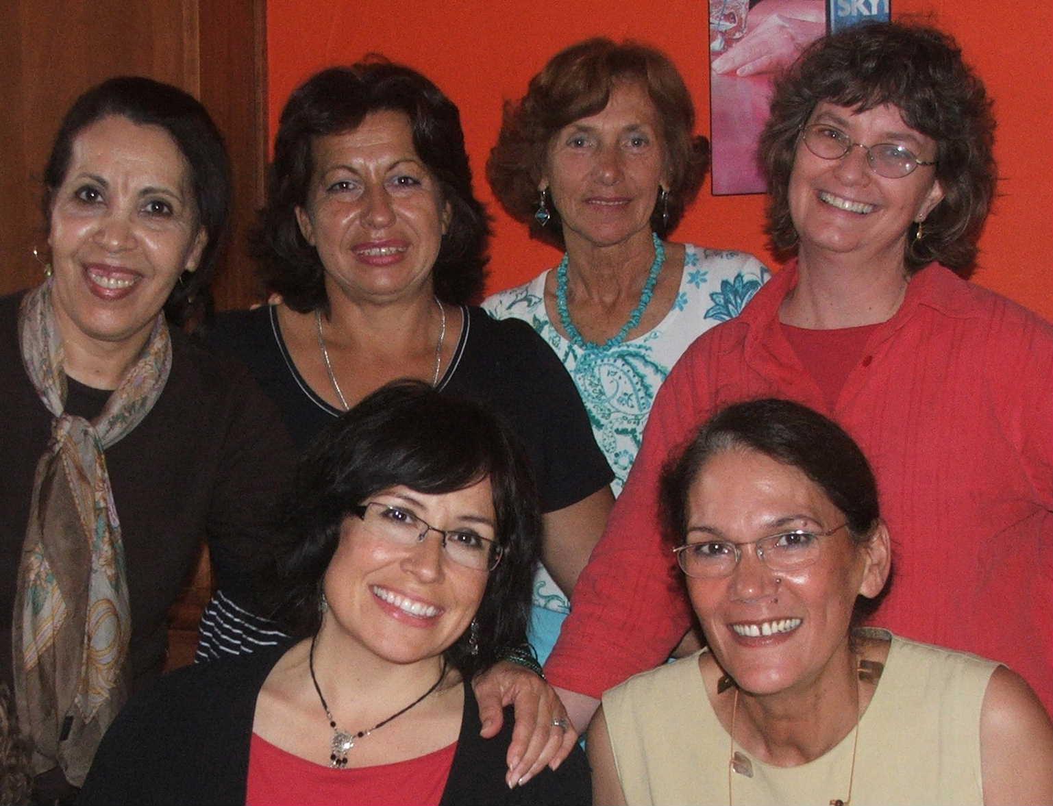 2007 - June -- Amal, Meryem, Semsa, Fatima, Terri & Lizzy