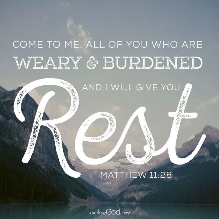 Image result for rest scripture quotes